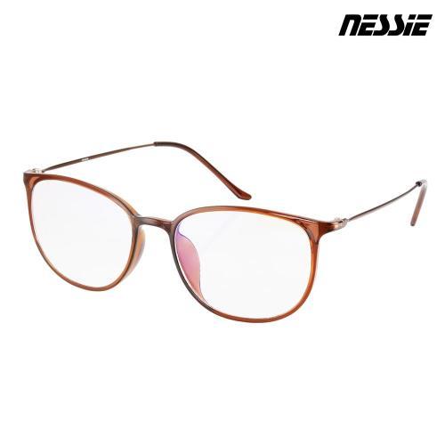 Nessie尼斯眼鏡-抗藍光眼鏡-羽量系列-雅致茶