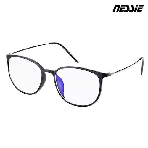 Nessie尼斯眼鏡-抗藍光眼鏡-羽量系列-雅致黑