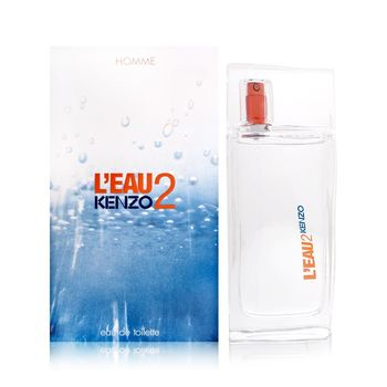 【KENZO】Leau Par 2 for men遇見風之戀男性淡香水50ml