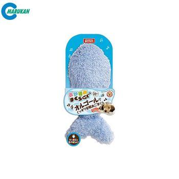 【MARUKAN】晚安枕音樂盒-小魚造型 狗玩具(DP-236)