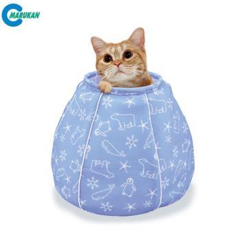 【MARUKAN】日本 貓咪涼感床-水壺造型(CT-405)