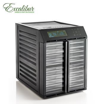 Excalibur伊卡莉柏低溫乾果機十層/數位式/雙電壓/塑膠(黑)RES10