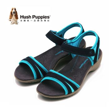 Hush Puppies Athos系列一字帶涼鞋 女鞋-深藍(另有橘、黑)