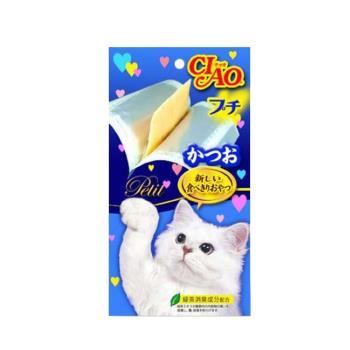 【CIAO】日本 噗啾肉泥-鰹魚(8G*5片) X 5包