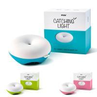 智能甜甜圈LED無線感應燈 床頭燈USB充電檯燈小夜燈護眼燈