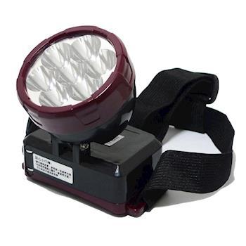 晶冠18W亮度充電式LED頭燈 JG-T18W05