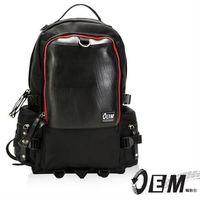 OEM  新製包工藝革命 綠色潮流 大容量後背包  -紅