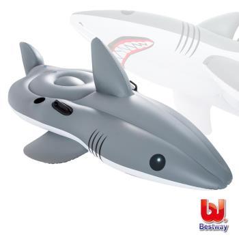 《哈街》Bestway。巨型鯊魚254cm坐騎/助浮/浮排