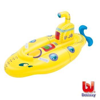 《哈街》Bestway。兒童充氣潛水艇造型坐騎