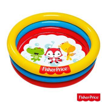 《哈街》Fisher-Price。三環充氣遊戲池、水池兩用(附25顆球)93501