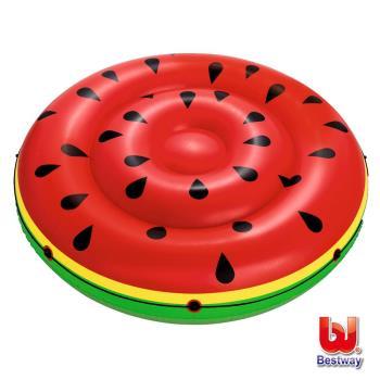 《哈街》Bestway。西瓜雙人水上充氣浮排/浮床/氣墊43140