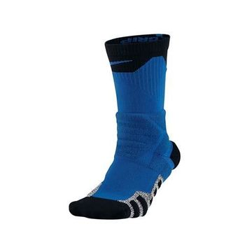 NIKE PWR CREW 男長筒襪-長襪 襪子 籃球 藍黑白