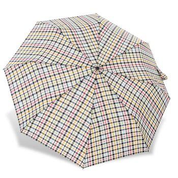 RAINSTORY雨傘-彩色格紋抗UV加大自動傘