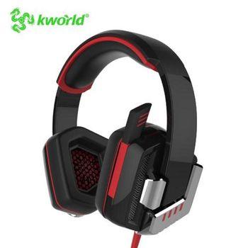 廣寰電競頭戴式耳麥 KR55 7.1聲道 紅燈