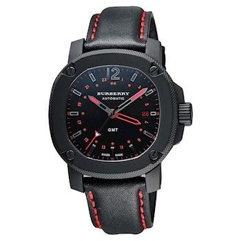 BURBERRY The Britain GMT 英倫時尚機械腕錶 43mm BBY1351