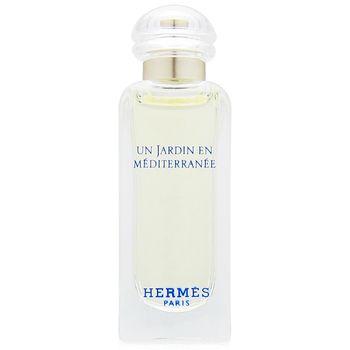 HERMES愛馬仕 地中海花園淡香水7.5ml 無盒版+隨機針管香水一份