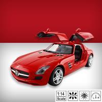 【瑪琍歐玩具】1:14 Mercedes Benz SLS AMG 遙控車