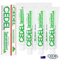 即期品澳洲CEDEL清淨潔白薄荷牙膏110g六入-效期2019/12