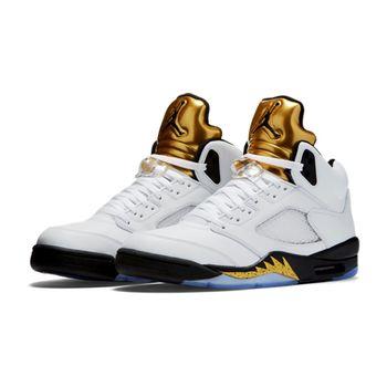 【NIKE】Air Jordan 5 Retro 男子籃球鞋 136027-133