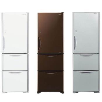 HITACHI日立 394公升變頻三門電冰箱 RG41A (琉璃瓷GS/ 琉璃棕GBW/琉璃白GPW)