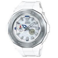 【CASIO 】BABY-G 運動風格休閒運動錶-白X銀框 (BGA-225-7A)