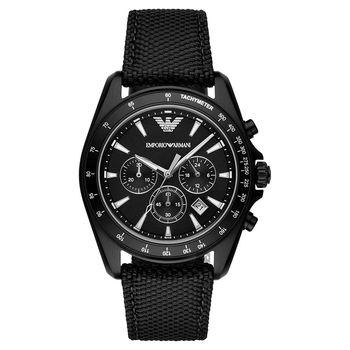 Emporio Armani Sport 探險家運動計時腕錶 黑 44mm AR6131