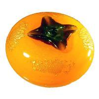 【開運陶源】圓滿柿柿如意 鎏金琉璃 禮品