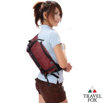 Travel Fox 旅狐經典隨身臀/腰/斜背包(紅)TB236-04
