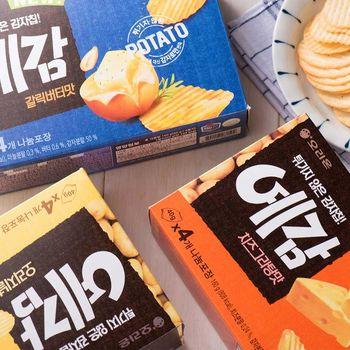 【好麗友】預感烘焙洋芋片 原味/起司/香蒜奶油(12盒/組)