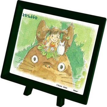 【日本ENSKY】宮崎駿塑膠迷你拼圖-龍貓 龍貓與小梅(附框架) 150pcs MA-04