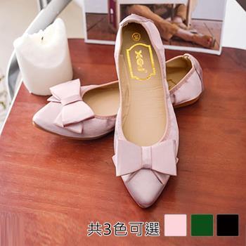 Alice 甜美優雅蝴蝶結造型平底鞋 (預購)