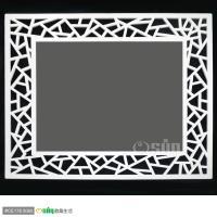 Osun DIY木塑板畫框/相框 CE178-5060-隨機贈送手繪真跡油畫一幅一幅