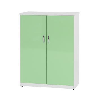 【顛覆設計】潮濕剋星-防水塑鋼雙門鞋櫃-寬65深37高112cm(12色可選)