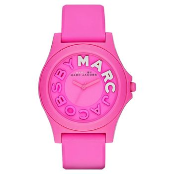 Marc by Marc Jacobs Sloane 活力經典品牌腕錶 粉 40mm MBM4023