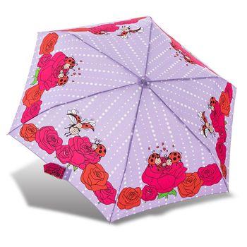 RAINSTORY雨傘-瓢蟲家族(紫)抗UV輕細口紅傘