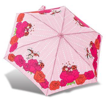 RAINSTORY雨傘-瓢蟲家族(粉)抗UV輕細口紅傘