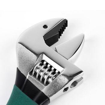 自緊王 專利V型活動扳手 8吋 可調型開口扳手 多功能扳手 管鉗 維修
