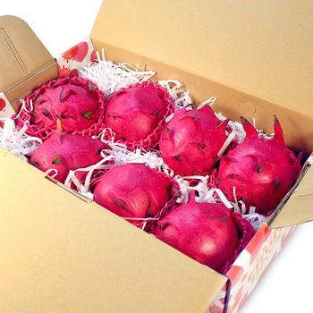 【鮮果日誌】紅肉 紅龍果/火龍果 (7入禮盒裝)