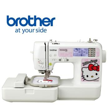 日本brother Hello Kitty電腦刺繡縫紉機NV-980K