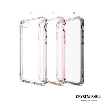 Spigen iPhone 7 Crystal Shell 美國軍規認證雙料防震殼
