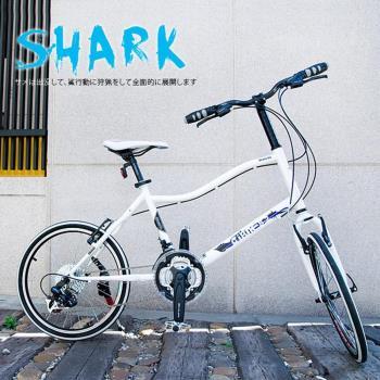 AiBIKE SHIMANO 20吋24速 鯊魚小徑車 小徑車
