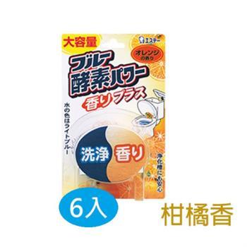 日本愛詩庭(雞仔牌)馬桶藍酵素120g (皂香)6入/組