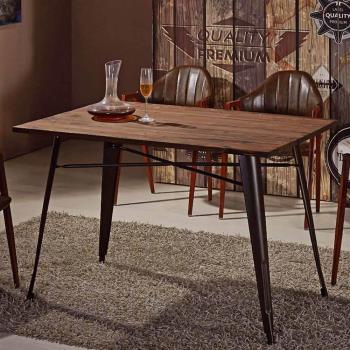 【AT HOME】韋德4尺實木餐桌