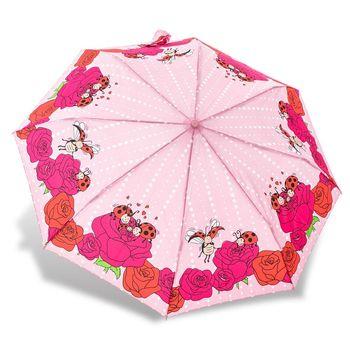 RAINSTORY雨傘-瓢蟲家族(粉)抗UV個人自動傘