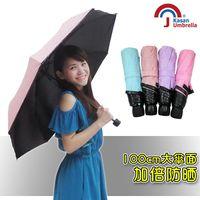 【Kasan 】涼感遮光防風晴雨傘(2入組)