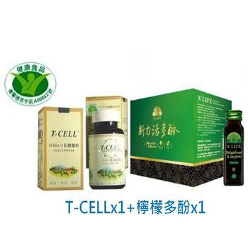 TCELL-1 原生益菌 + 新力活檸檬多酚