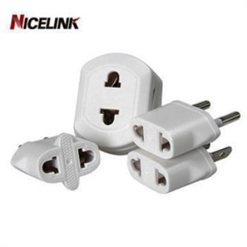 Nicelink 旅行萬用轉接頭-白色(全球通用組合包) UA-401A(W)