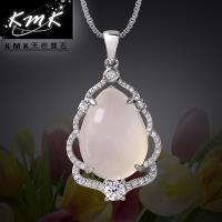 KMK天然寶石~生命樹~純正 天然白玉髓~項鍊
