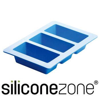 Siliconezone施理康耐熱矽膠3格條型蛋糕模