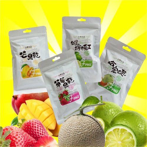 【台灣名品】天然水果果乾 10包組